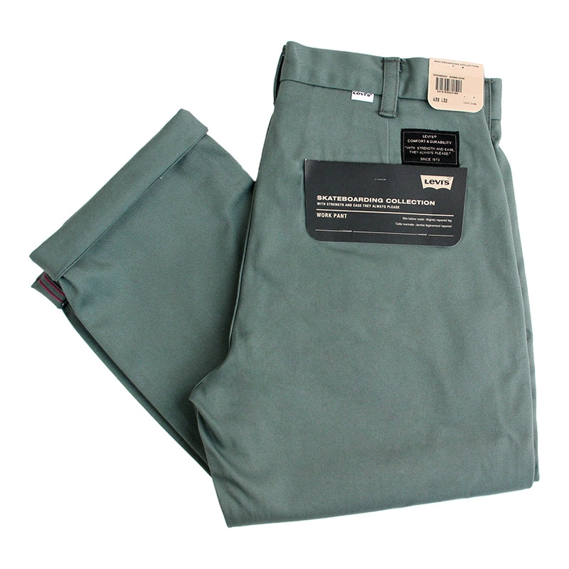 Levi's Skateboarding Collection Work Pant in Fir