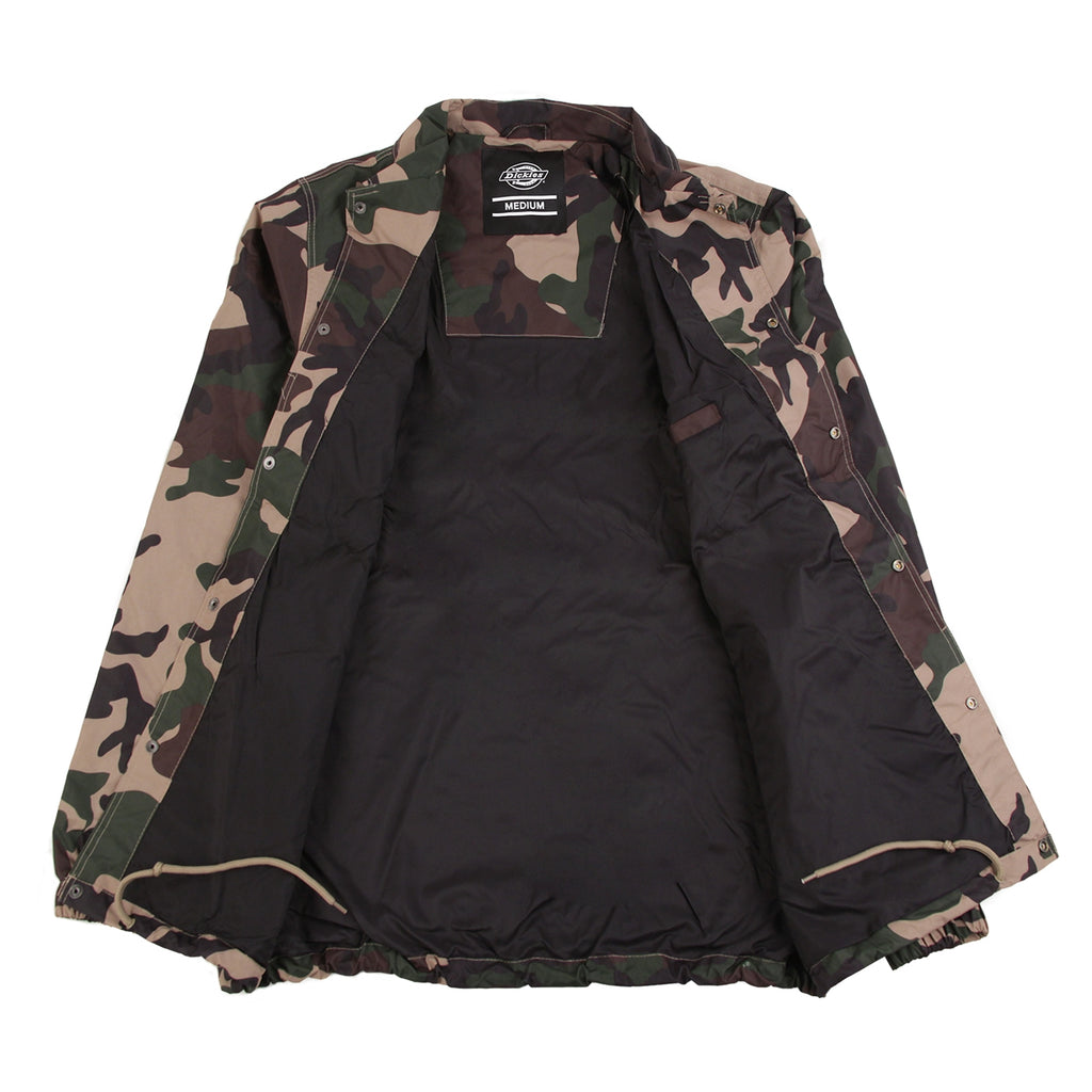 Dickies Torrance Jacket in Camouflage - Open