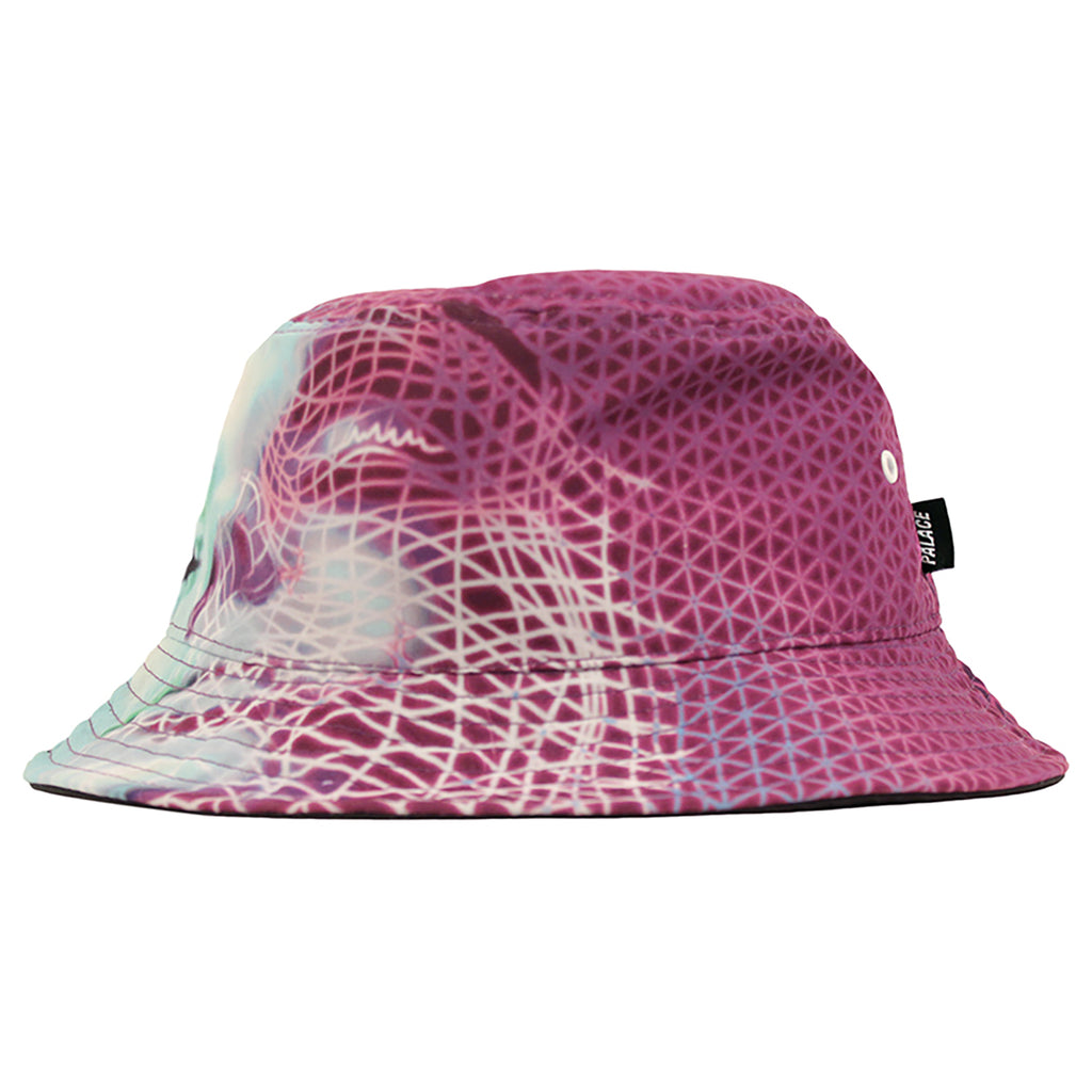 Palace Scape Bucket Hat in Pink