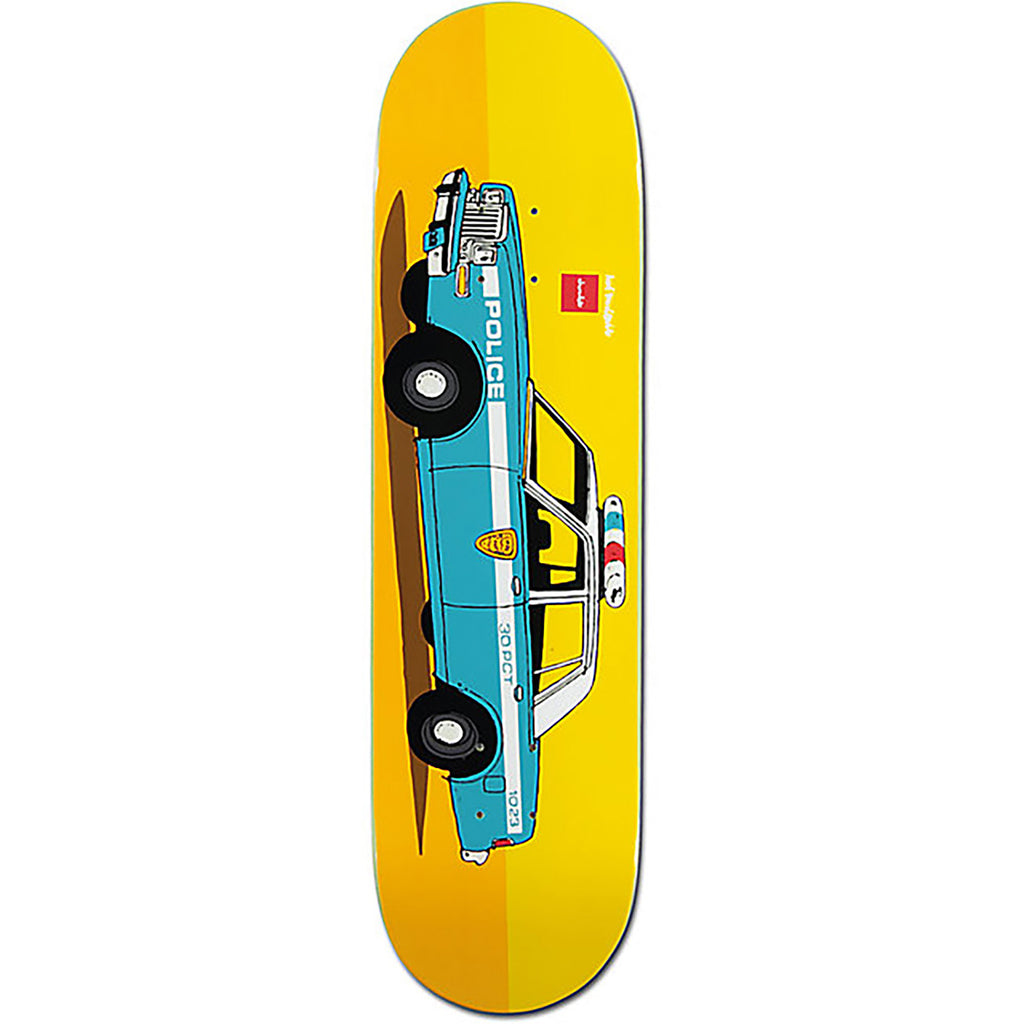 Chocolate Skateboards x HUF NY Cop Car Skateboard Deck in 8.25""