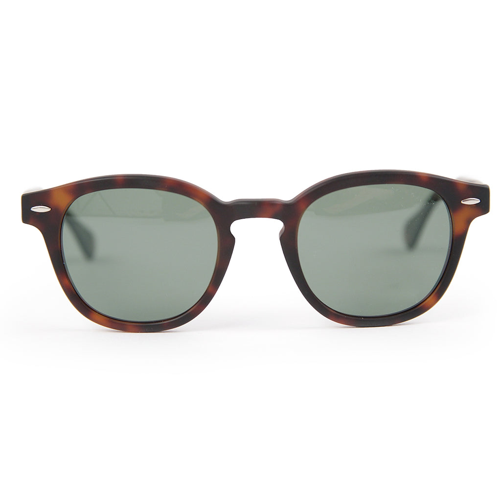 Carhartt Windsor Sunglasses in Tortoise Matte / Green