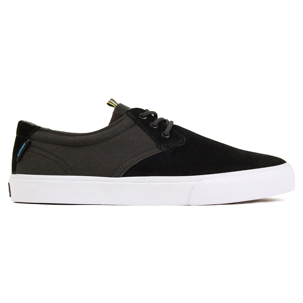 Lakai MJ Stay Flared in Black Suede / White