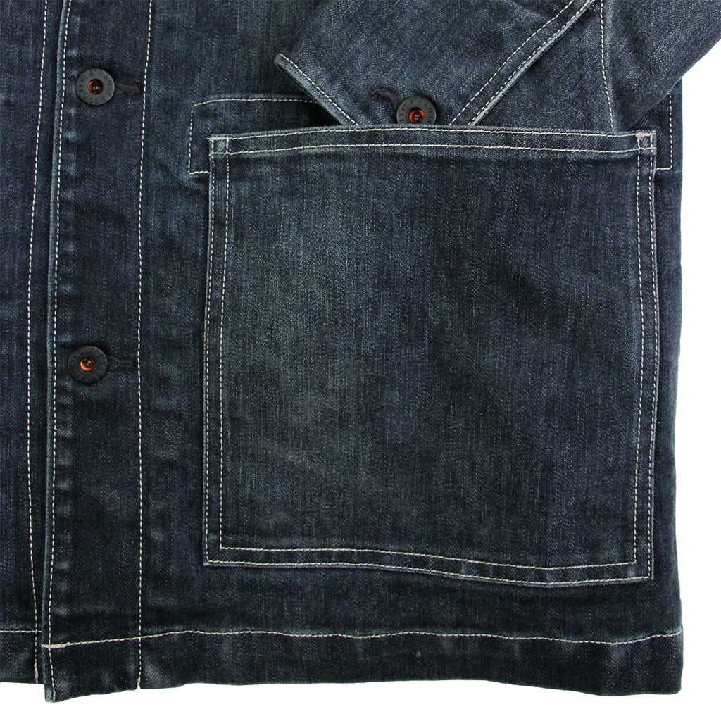 Levis Skateboarding Lined Chorecoat in Indigo - Pocket