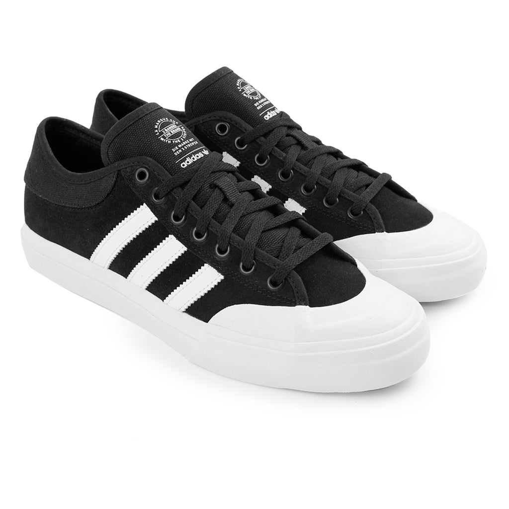 Adidas Matchcourt Shoes in Core Black / FTW White / FTW White - Pair