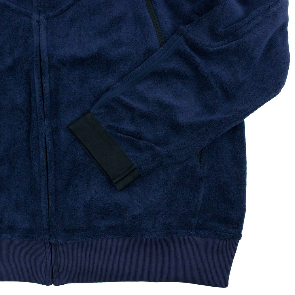 Palace x Adidas Towel Jacket in Night Indigo - Pocket