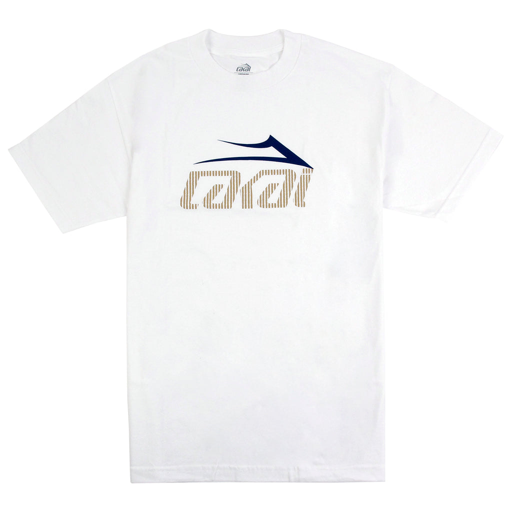 Lakai Tonal Tech T Shirt in White