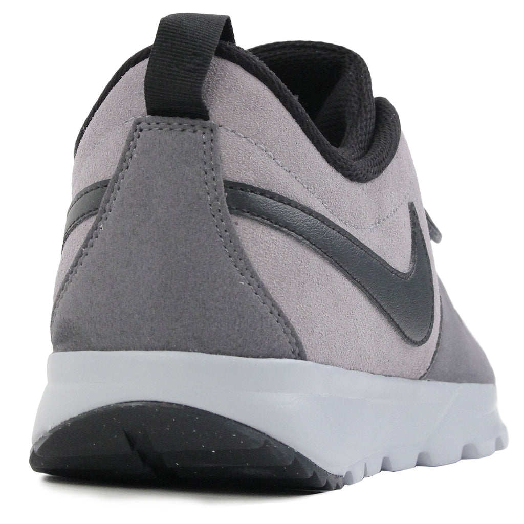 Nike SB Trainerendor L Shoes in Cool Grey / Black / Dark Grey / Wolf Grey - Heel