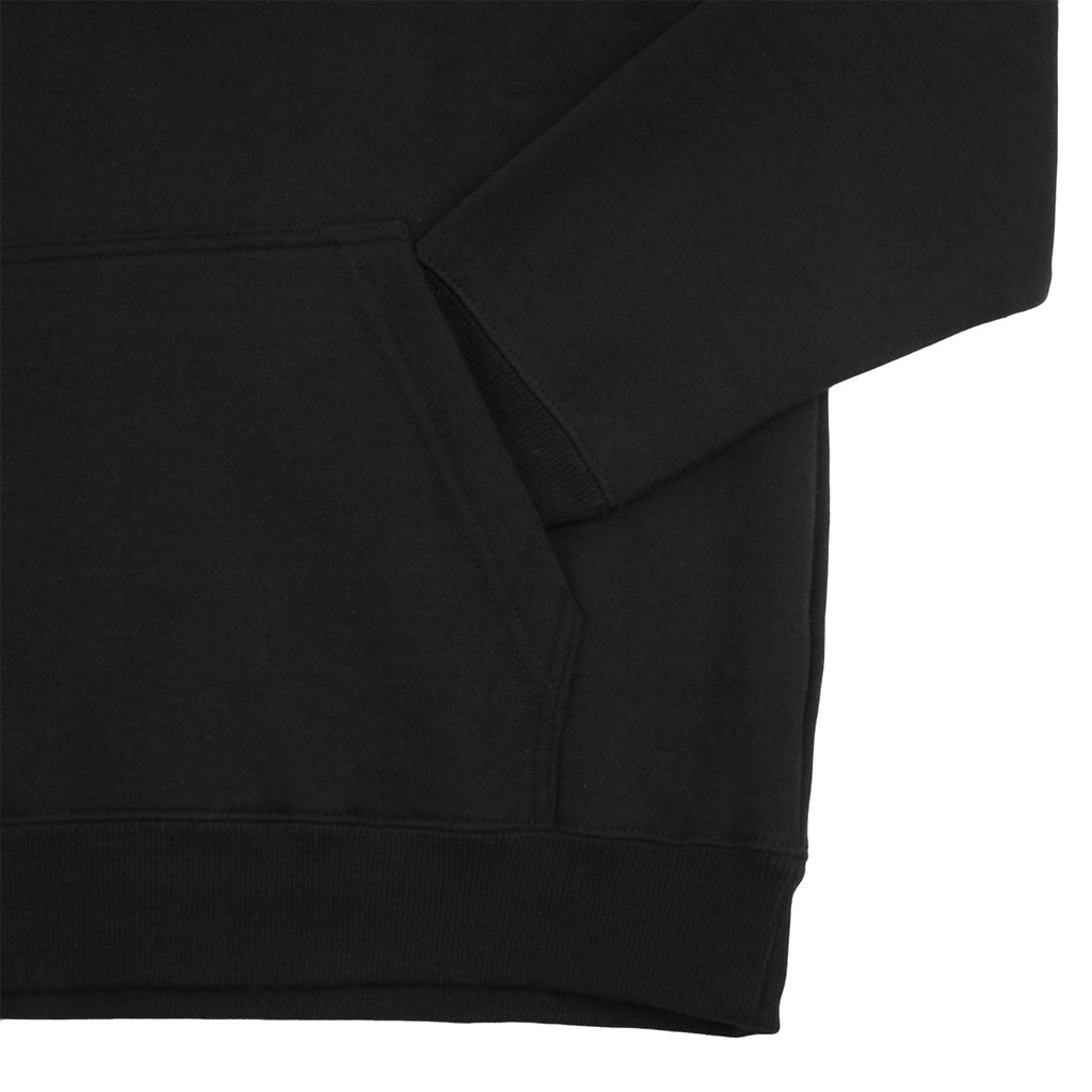 Stussy Arch Applique Hoodie in Black - Pocket