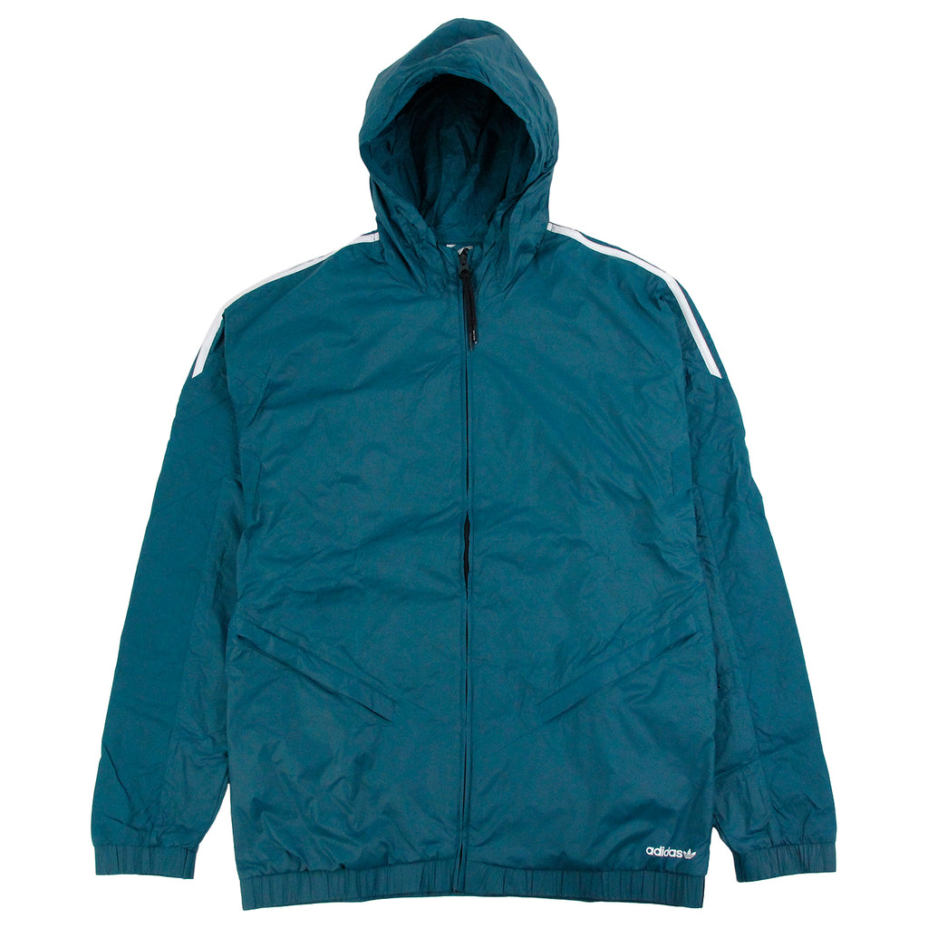 Palace x Adidas Jacket in Surf Petrol S15 - Front