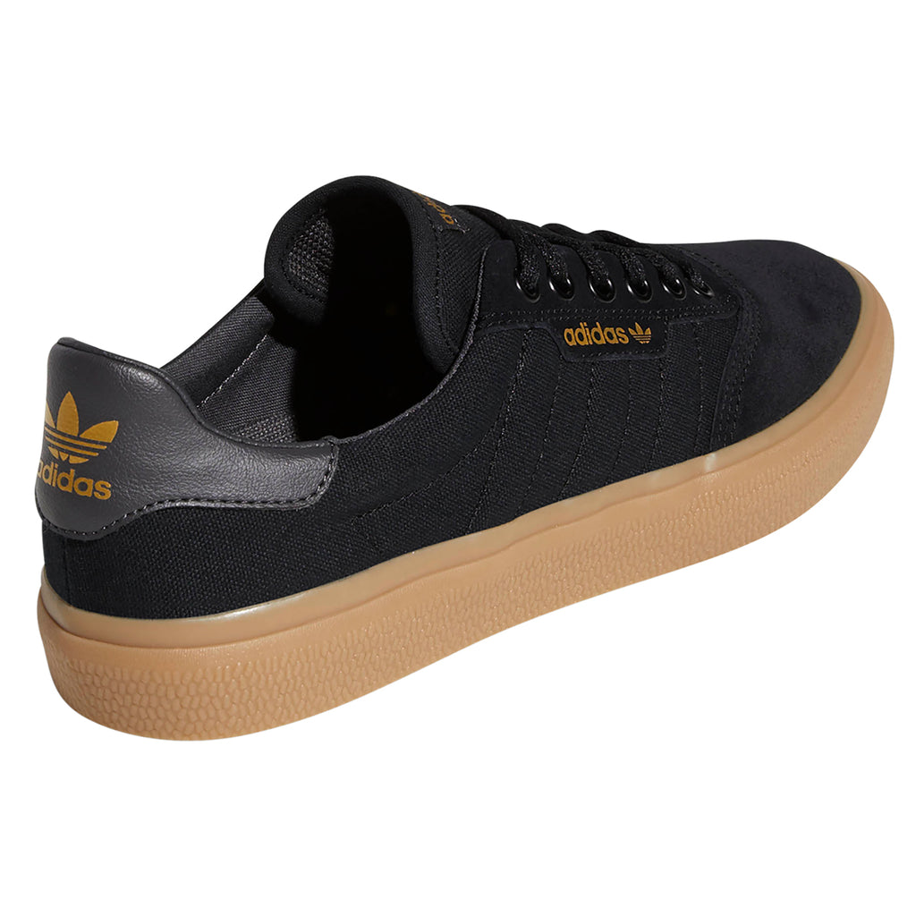 Adidas 3MC Shoes in Core Black / Solid Grey / Gum - Side