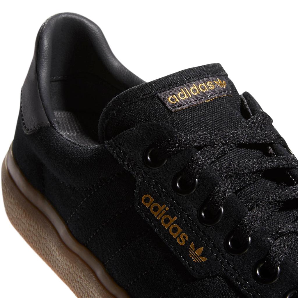 Adidas 3MC Shoes in Core Black / Solid Grey / Gum - Detail