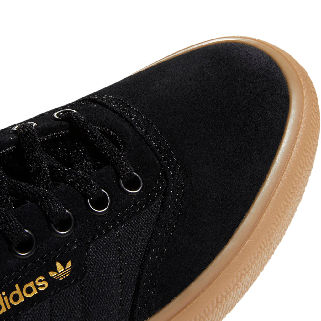 Adidas 3MC Shoes in Core Black / Solid Grey / Gum - Toe