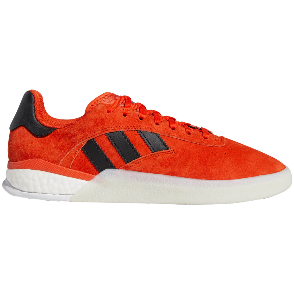 Adidas 3ST.004 Shoes in Collegiate Orange / Core Black / Footwear White
