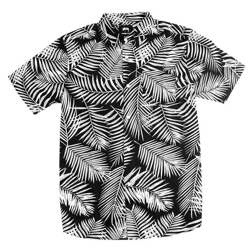 Stussy Palm S / S Shirt in Black