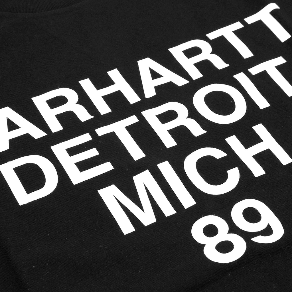 Carhartt Mich T Shirt in Black / White - Print