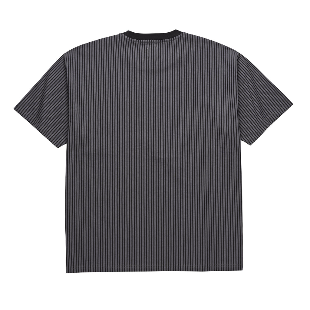 Polar Skate Co Vertical Stripe T Shirt in Black - Back