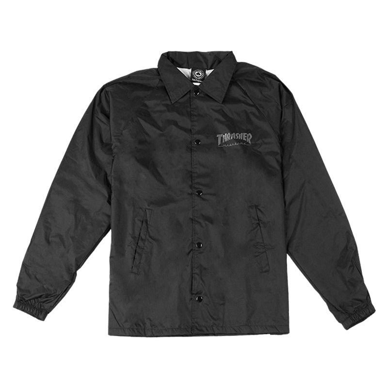Thrasher Skate And Destroy Coaches Jacket in Black