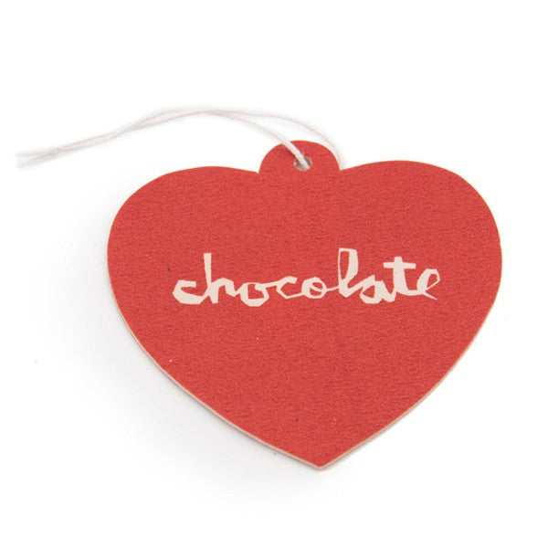 Chocolate Skateboards Heart Air Freshener in Red