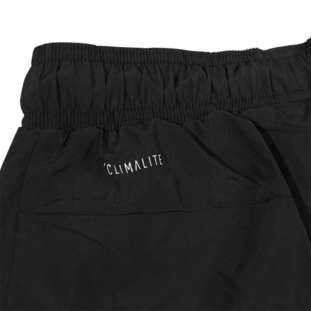 09a069632664 Adidas Skateboarding Classic Wind Pants in Black   White - Detail