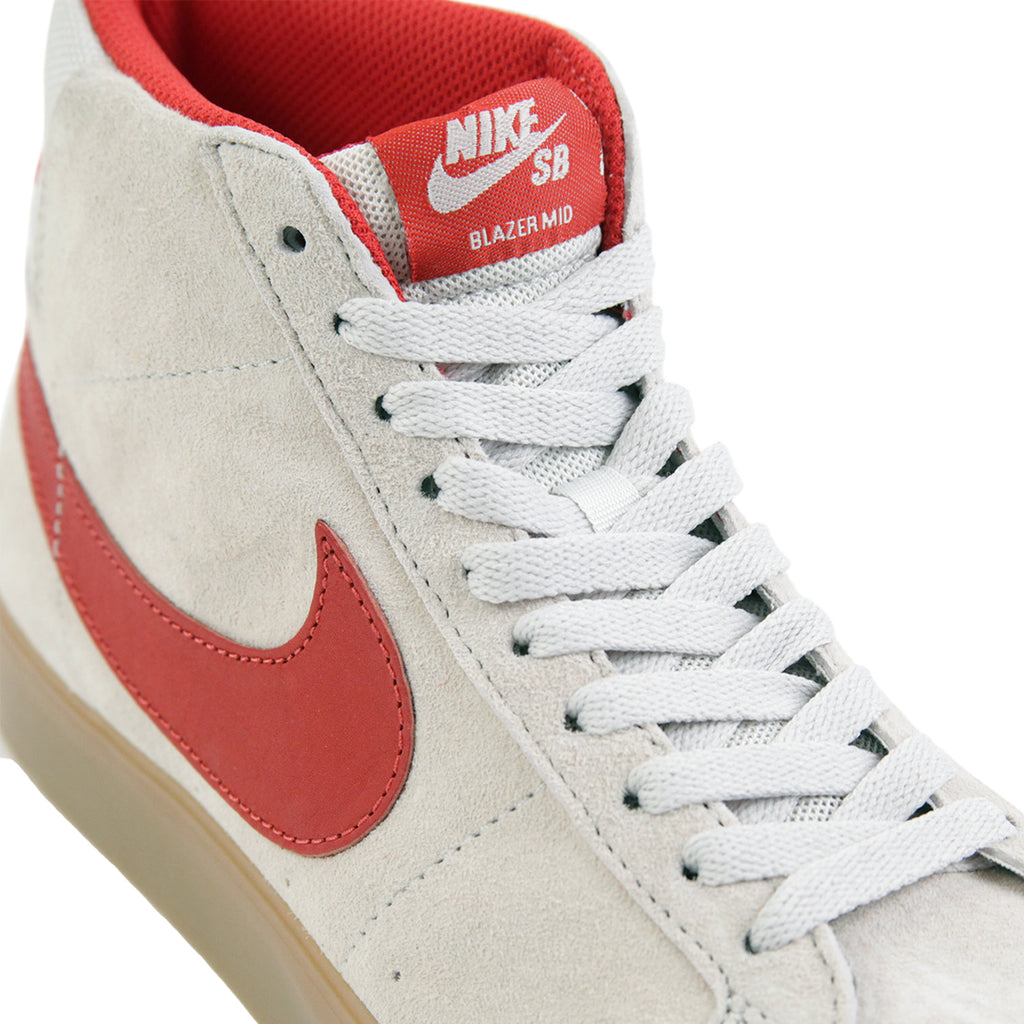Nike SB FTC Blazer Zoom Mid QS Shoes in Light Bone   Brickhouse - Detail 3f49daade