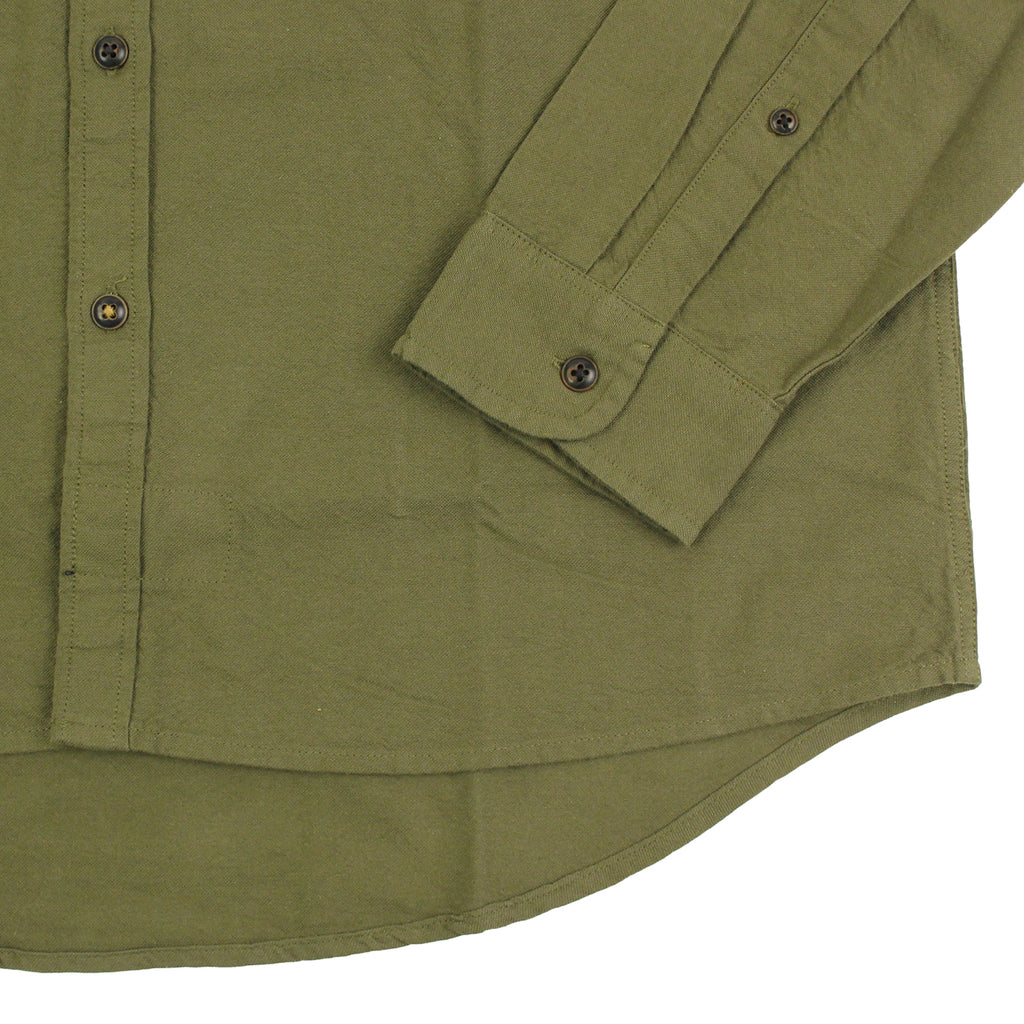 Levi's Skateboarding Collection Reform Shirt in Ivy Green - Cuff