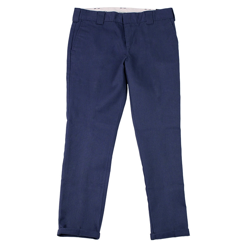 DICKIES 872 SLIM FIT WORK PANT NAVY - Legs