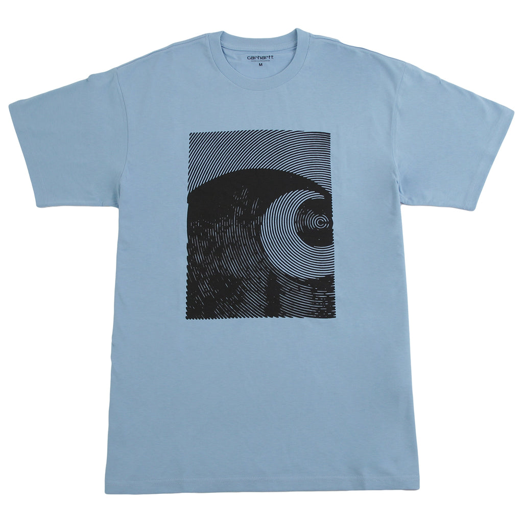Carhartt Circles T Shirt in Capri / Black