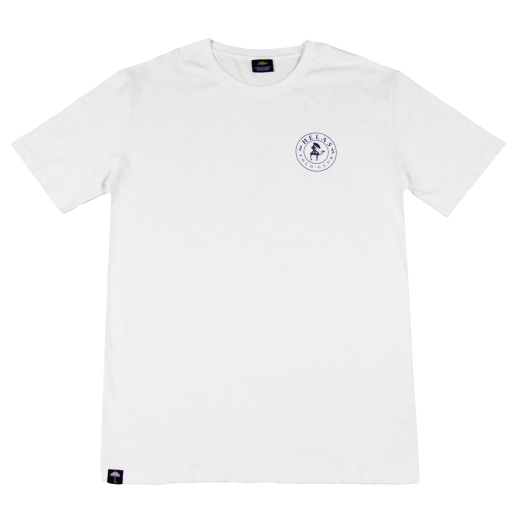 Helas Polo Club T Shirt in White - Front