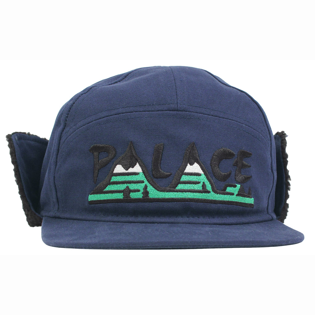 Palace All Terrain Trooper Cap in Navy - Front