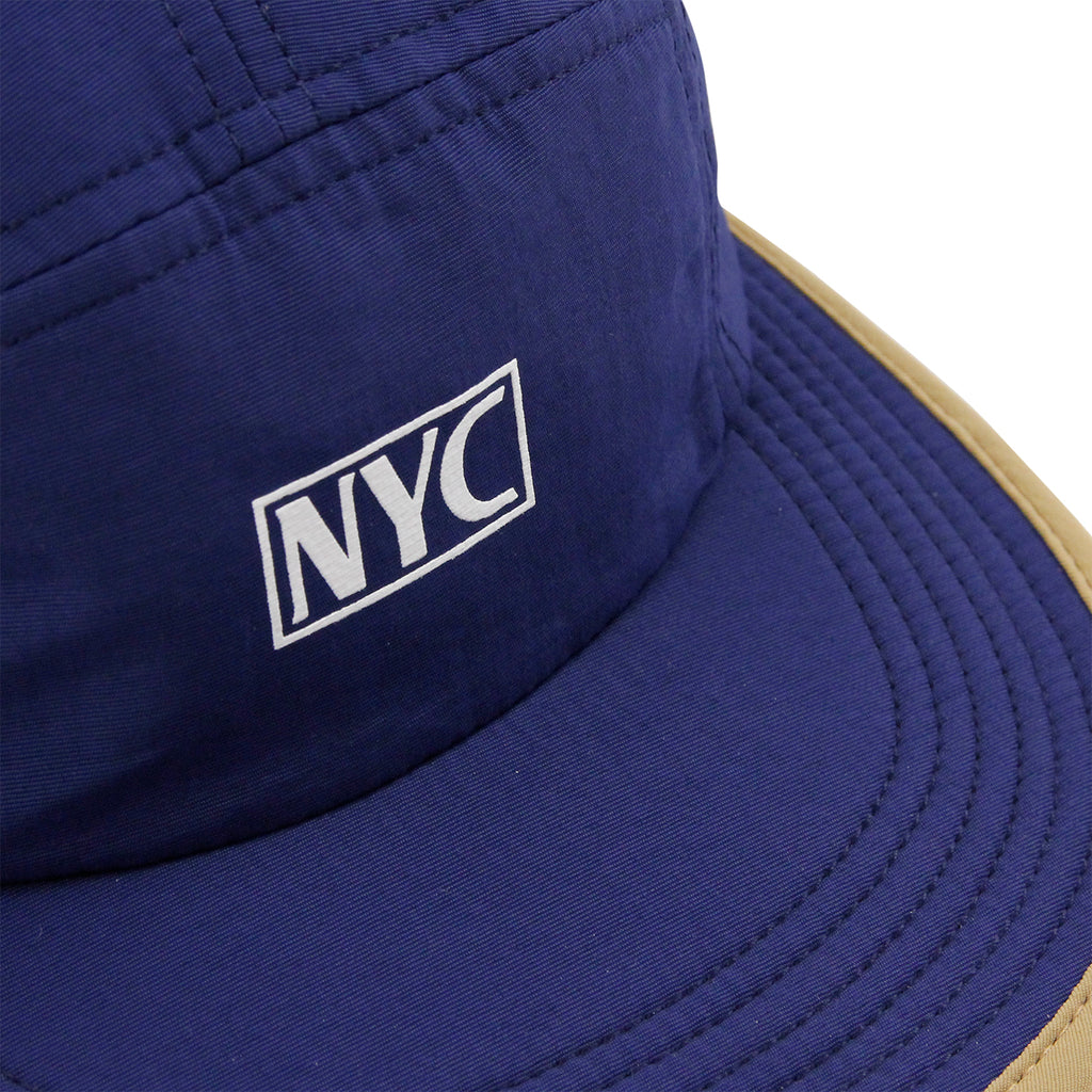 5Boro 5B VHS 5 Panel Camp Cap in Navy - Detail