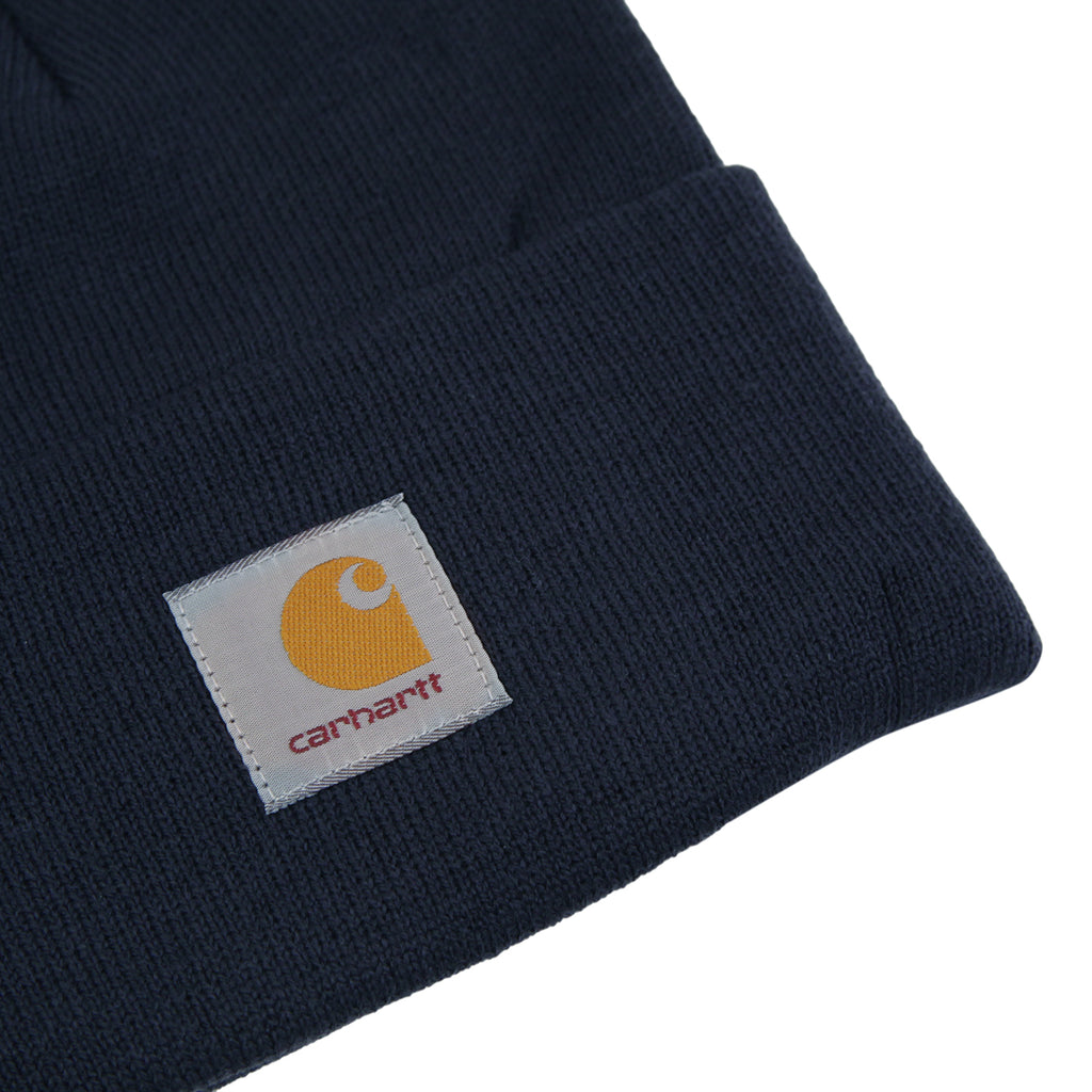 Carhartt WIP Watch Hat in Navy - Detail