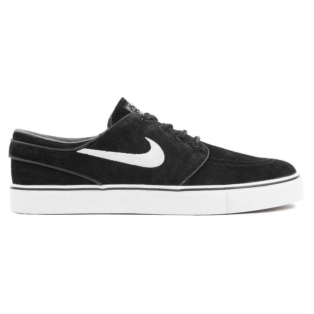 Nike SB Stefan Janoski OG Shoes in Black / White - Gum Light Brown