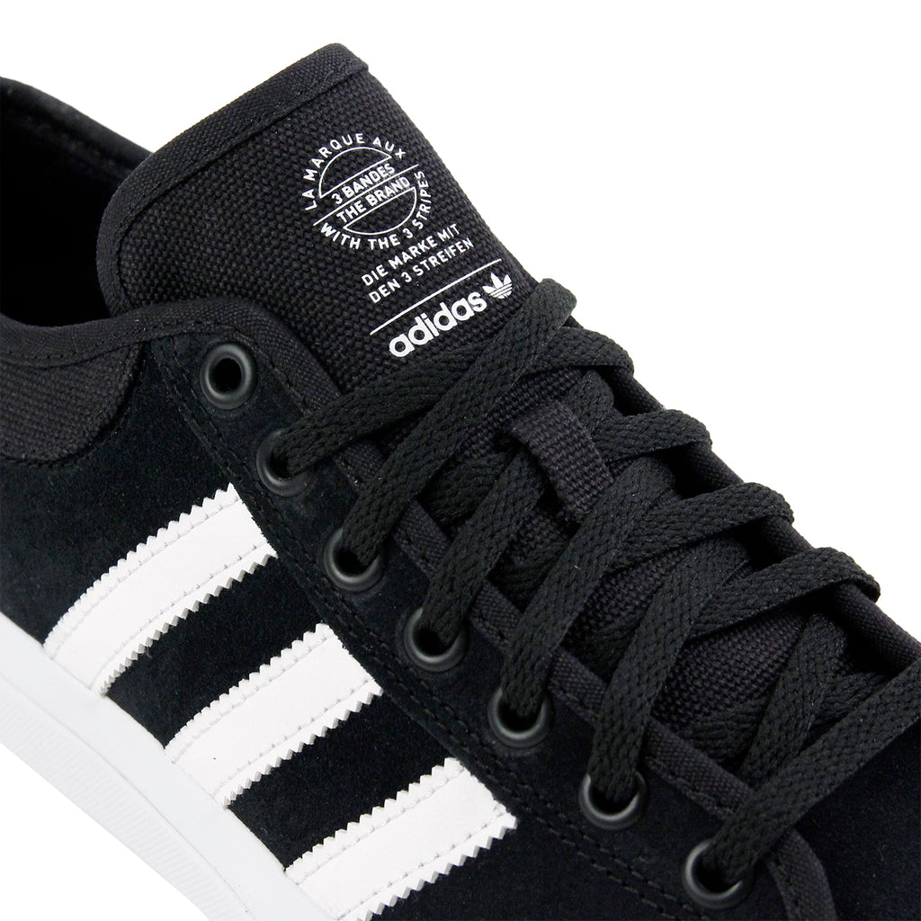Adidas Matchcourt Shoes in Core Black / FTW White / FTW White - Detail