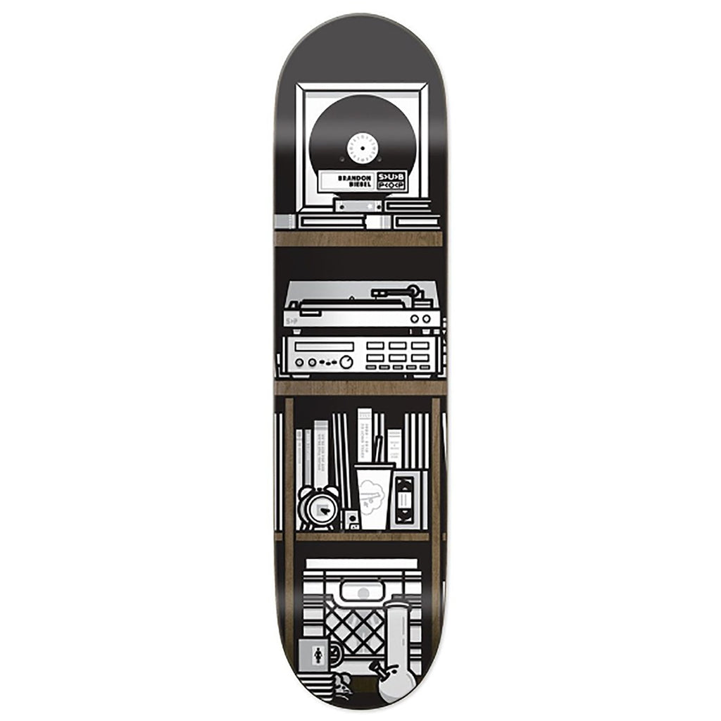 Girl Skateboards x Subpop Brandon Biebel Skateboard Deck in 8""