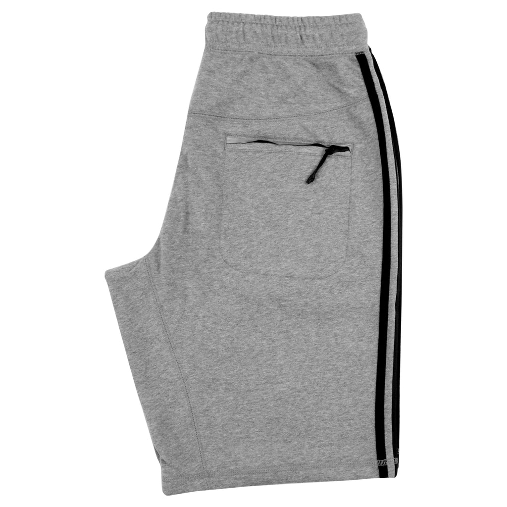 Adidas Skateboarding Clima Knit Shorts in Core Heather - Back