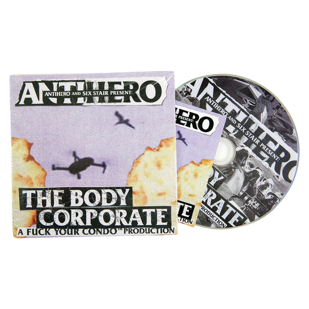 Anti Hero Skateboards The Body Corporate DVD
