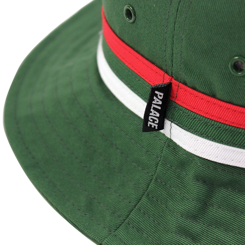 Palace Bucket Hat in Green - Detail