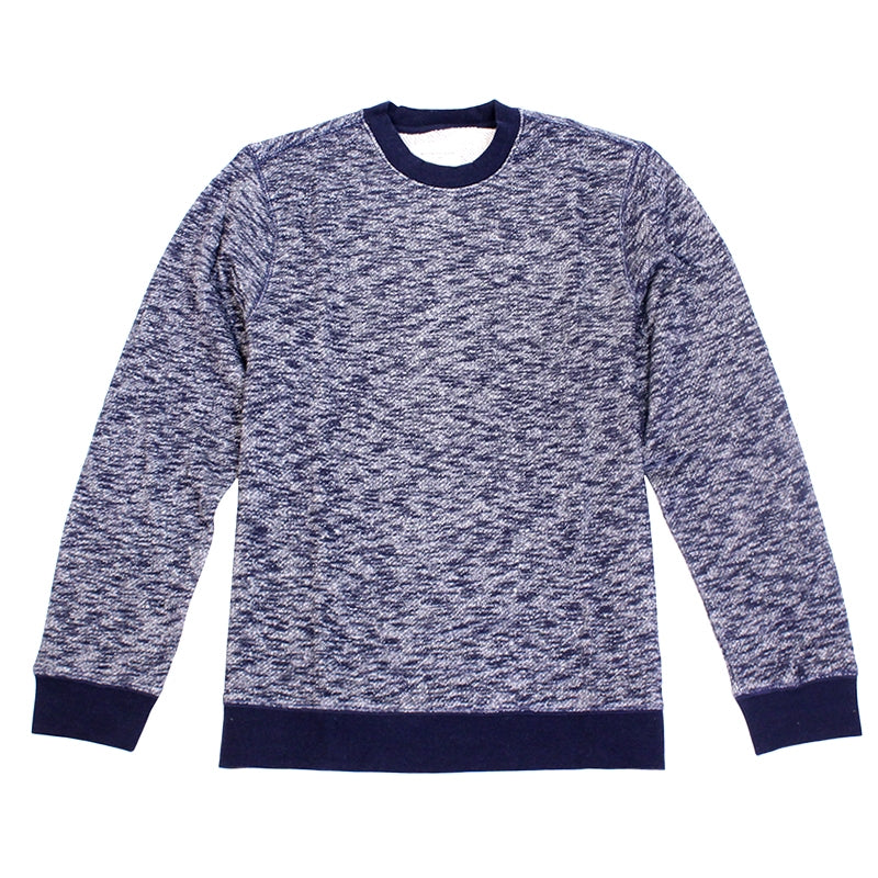 Obey Clothing Warner Crew in Navy