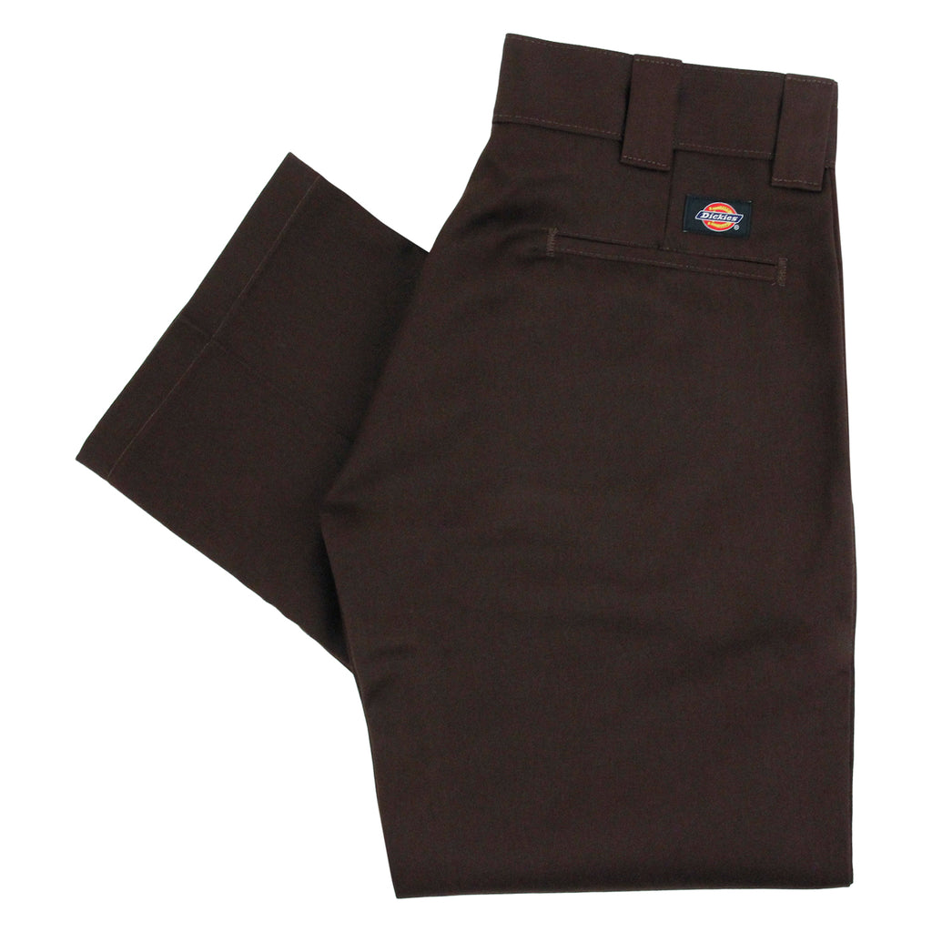 Dickies 873 Slim Straight Work Pant in Chocolate