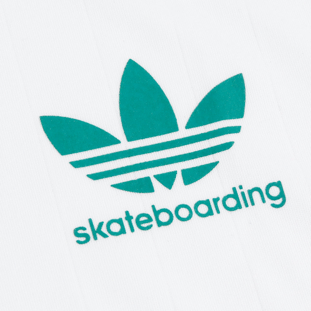 Adidas Skateboarding Clima Club Jersey in White - Logo