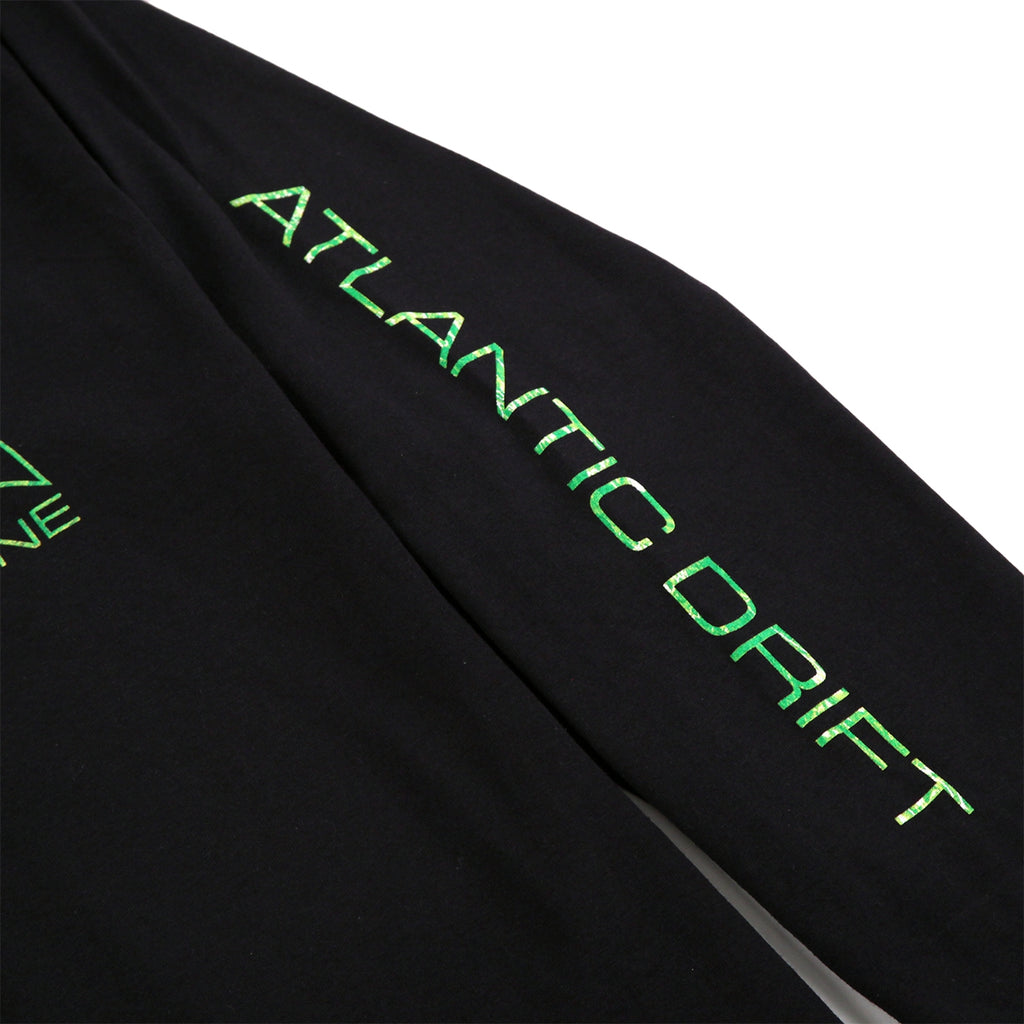 Thrasher x Atlantic Drift L/S T Shirt in Black - Sleeve