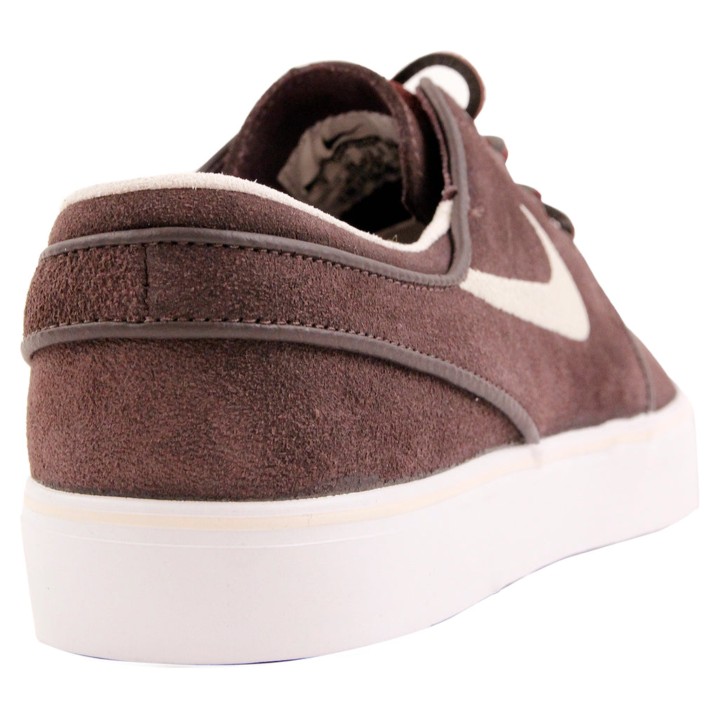 Nike SB Stefan Janoski OG Shoes in Cappuccino / Snowdrift - White - Metallic Gold - Back