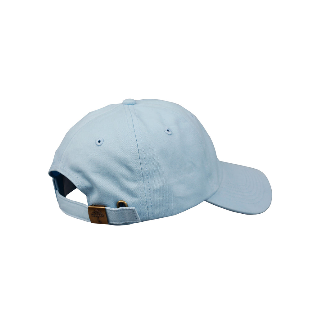 Helas H 6 Panel Cap in Pastel Blue - Side