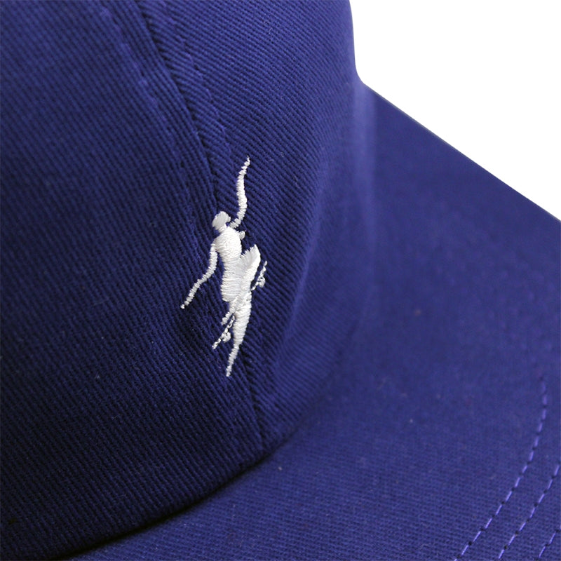 Polar Skate Co No Comply Cap in Royal Blue - Detail