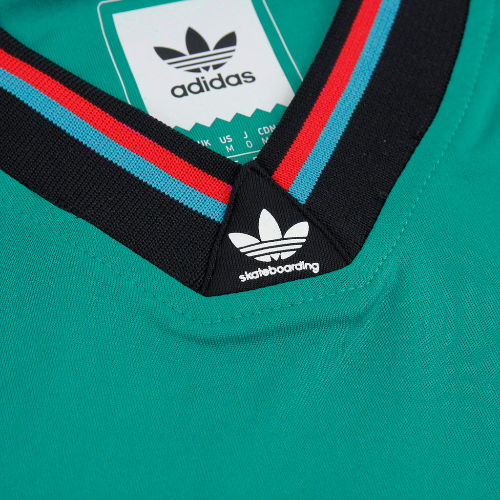 Adidas Skateboarding Silas Germany Jersey in Green - Detail 2