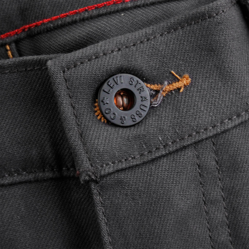 Levi's Skateboarding Collection 504 Straight Jeans in Bull Denim - Button