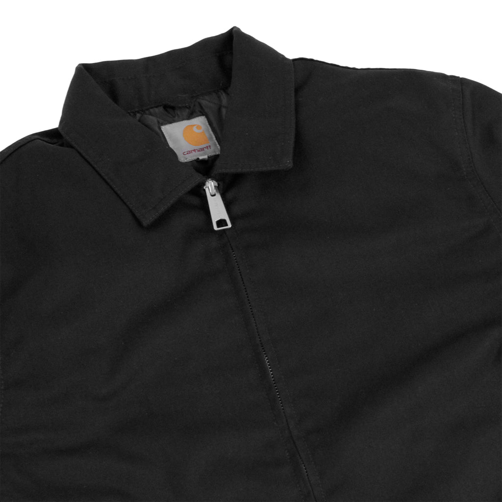 Carhartt Modular Jacket in Black Rinsed - Detail