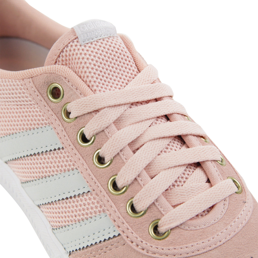 Adidas Lucas Premiere Shoes in Vapour Pink / Grey / Footwear White - Detail
