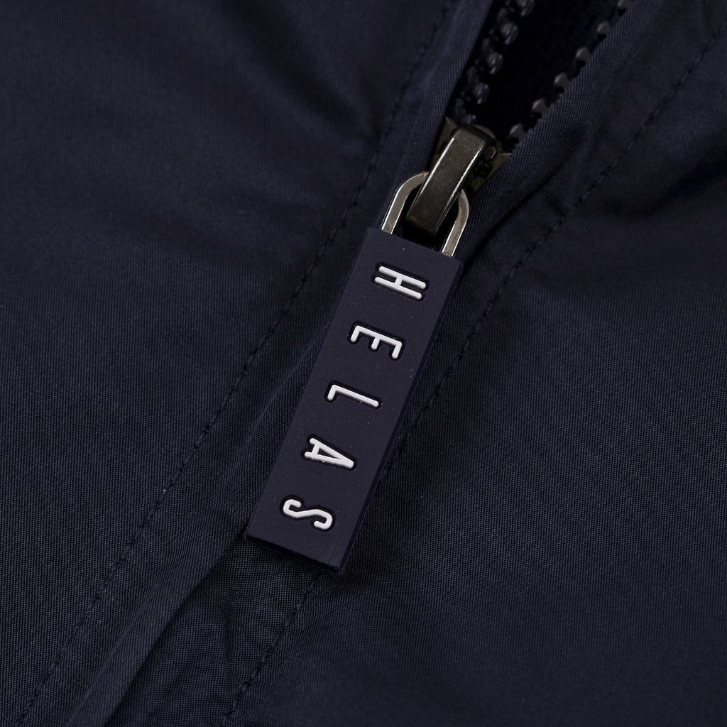 Helas Mosaic Tracksuit Jacket in Navy - Zip Pull
