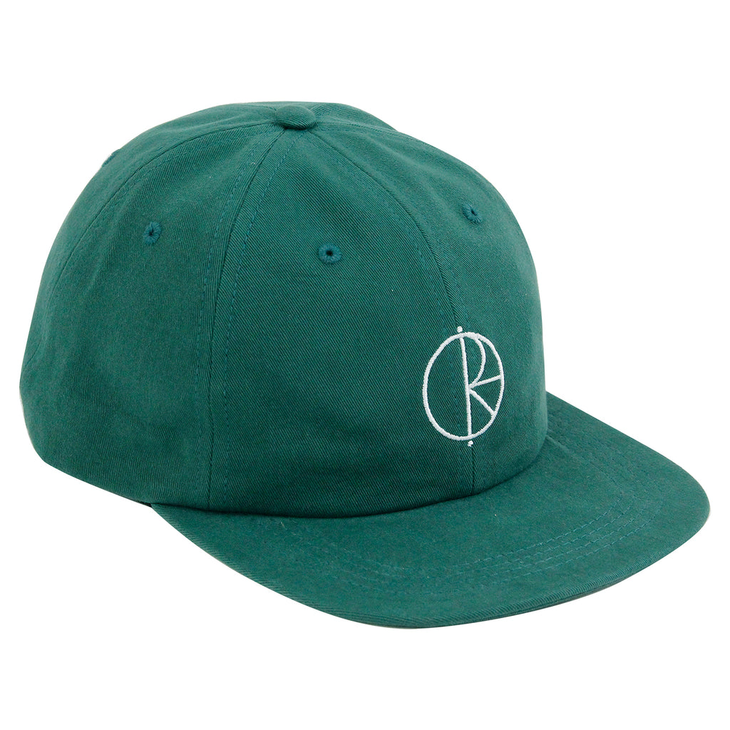 Polar Skate Co Stroke Logo Cap in Botanical Green